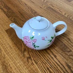 Vintage Floral Teapot